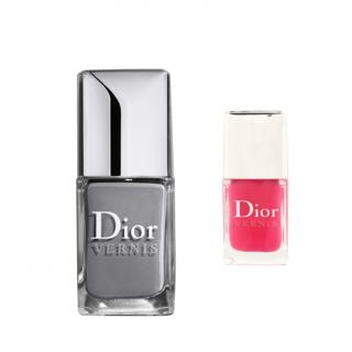 DIOR VERNIS X2 Gris and Plaza Nail Varnish duo. RPP �38.00