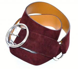Ralph Lauren Collection suede belt