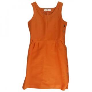 Marni orange dress