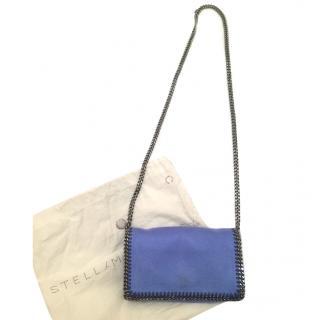 Falabella faux brushed shoulder bag