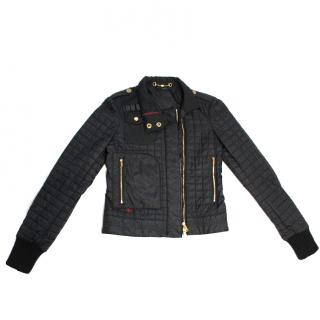 Gucci Quilted Women's Jacket in Black UK 10 EU 38