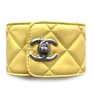 Chanel leather cuff Spring 2013