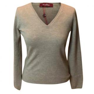 MaxMara v-neck jumper, very soft and thin