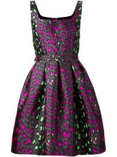 Christopher Kane Leopard Jacquard Dress