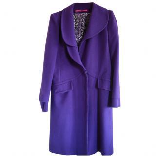 Emanuel Ungaro lightweight wool/angora coat