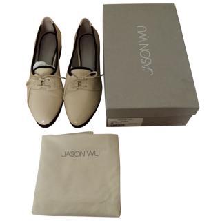 Jason Wu Patent Leather Oxford Shoes