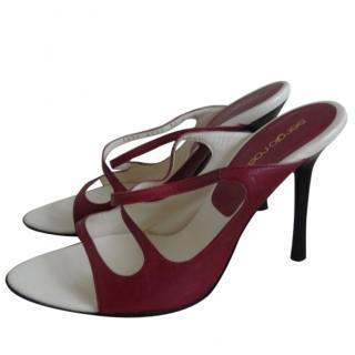 Sergio Rossi Dark Purple Heels Shoes