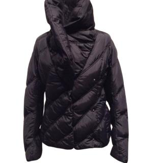 Trussardi Down Feather Fitted Jacket