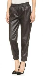 Club Monaco Brice Faux Leather Sweatpants