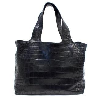 Balmain Crocodile Skin Handbag