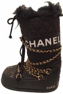 Chanel snow/ski boots