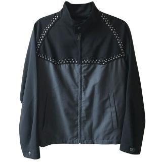 PRADA men's runway stud jacket