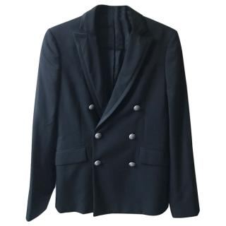 Pierre Balmain men's black blazer