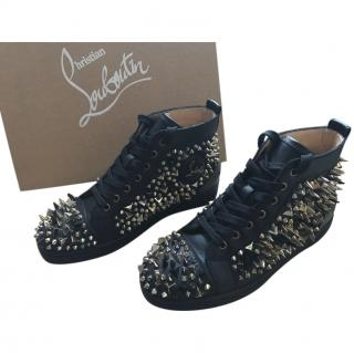 Christian Louboutin men's pik pik sneaker boots
