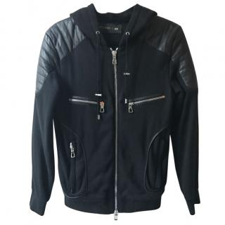 Balmain for H&M biker men's hoody jacket