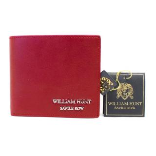 William Hunt Red Leather Wallet