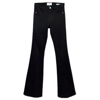 Frame Black 'Le High Flare' Jeans