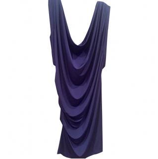 McQ by Alexander McQueen Silky Blue Dress