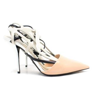 Dior Black and Nude 'Decli Defile' Pumps