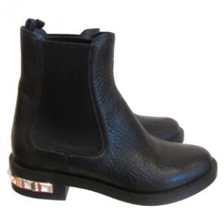 Miu Miu Crystal-embellished boots