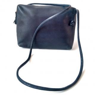 BOTTEGA VENETA Vinatage Navy /Dark Blue Shoulder / Crossbody Bag