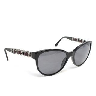 Chanel Cat-Eye Polorised Sunglasses