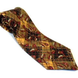 Mulberry Golf Patterned Tie