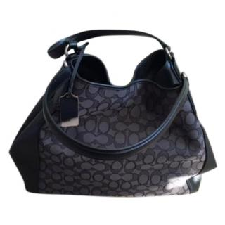 Coach Edie Shoulder Bag in Signature Jacquard