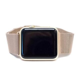 Apple Watch with Rose Gold and Leather Straps