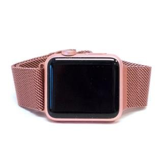 Apple Pink Stainless Steel iWatch