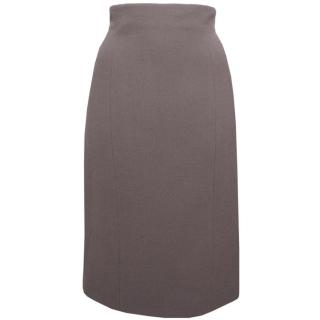Giles Wool-mix Pencil Skirt