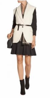 Isabel Marant Heko sleeveless linen and wool-blend twill jacket