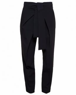 Chloe Cady High-Waist Tie Trousers / Pants 34 NWT