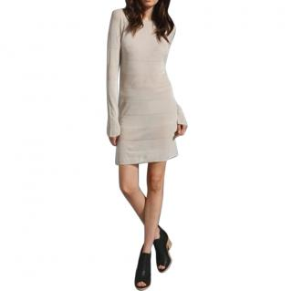 T BY ALEXANDER WANG Rib Knit Stripe Tunic Dress