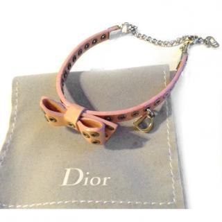 Dior Pink Bow Bracelet