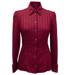 Gucci Fuchsia Cotton Shirt