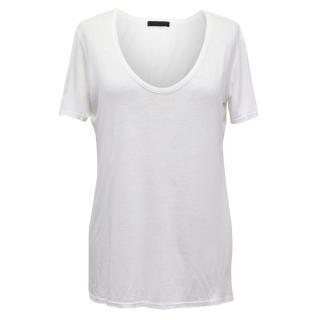 The Row Cream T Shirt