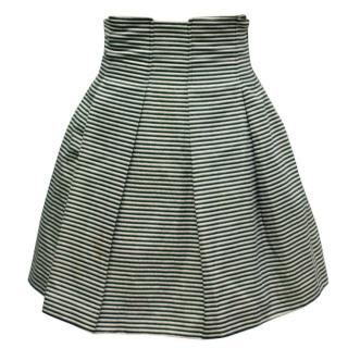 Emporio Armani Black and White Skirt