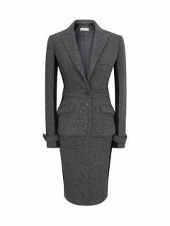 BURBERRY LONDON Tweed Pencil Skirt Suit