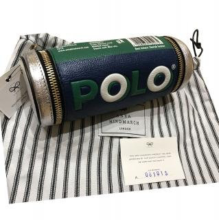 Anya Hindmarch Polo Mints Textured Leather Clutch