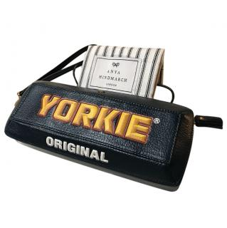 Anya Hindmarch Yorkie Leather Clutch