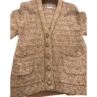 Chanel beige/gold jacket