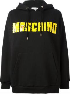 Moschino Yellow Spingbob hoodie