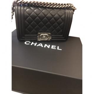 Chanel Small Black Boy Bag