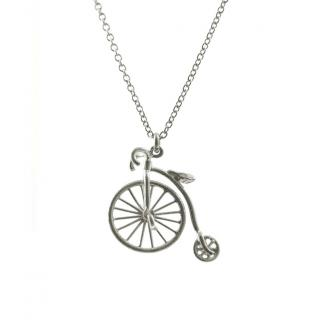 Alex Monroe Penny Farthing necklace