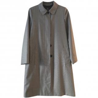 Aquascutum silver grey coat