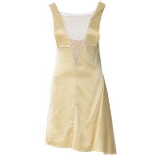 CELINE Satin Cocktail Dress
