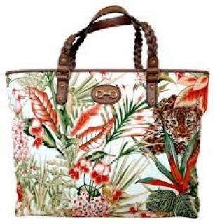 Salvatore Ferragamo Leopard/Flower Bag