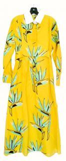 Fendi 2016 Resort Bird of Paradise Dress