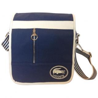 Lacoste cloth shoulder bag